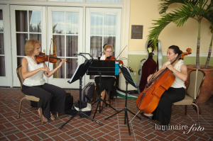 Seaside Strings Trio at Reception