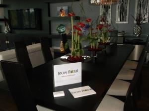 Focus Floral table arrangements