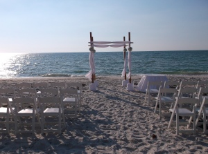 Vedado Beach wedding