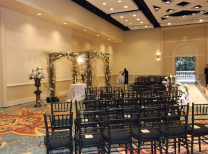 Ritz- Carlton wedding