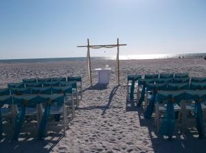 Marco Marriott beach wedding