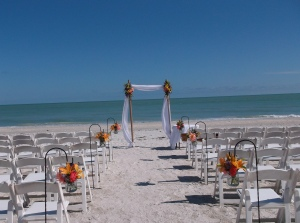 Casa Ybel beach wedding