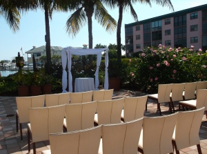 Naples Bay Resort wedding