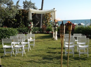 La Playa Resort wedding