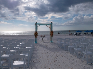 Marco Beach Ocean Resort wedding