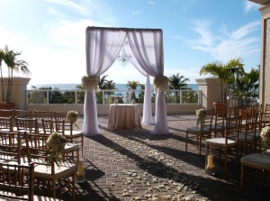 Marco Beach Ocean Resort ceremony