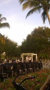 Royal Poinciana Club wedding ceremony