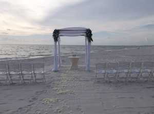 La Playa beach wedding