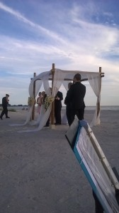 Sunset Cove wedding