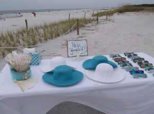 Lover's Key beach wedding