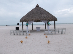 Marco Island beach wedding