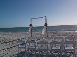 Wedding at Lover's Key State Park